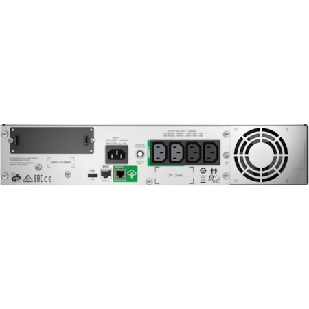 SMT1000RMI2UC - APC by Schneider Electric Smart-UPS Line-interactive UPS - 1kVA / 700W with Smart Connect Monitoring