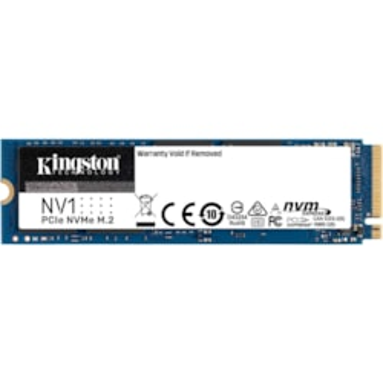 Kingston NV1 1000 GB Solid State Drive - M.2 2280 Internal - PCI Express NVMe (PCI Express NVMe 3.0 x4)