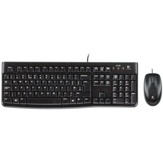 Logitech MK120 Keyboard & Mouse - Retail
