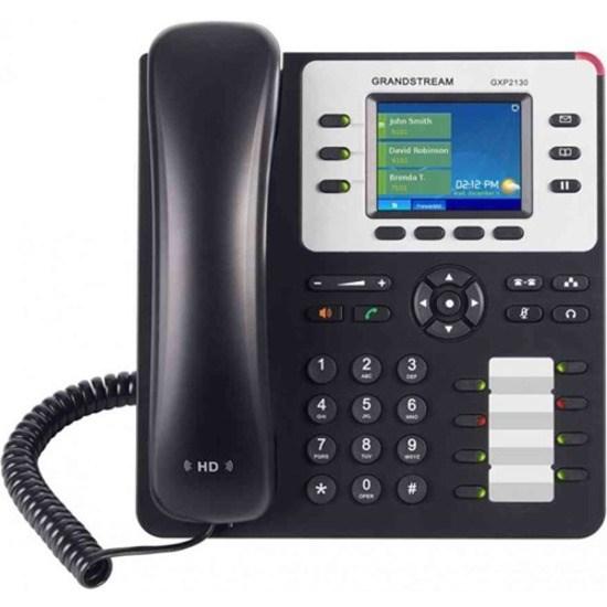 Grandstream GXP2130 IP Phone - Corded - Wall Mountable - Black
