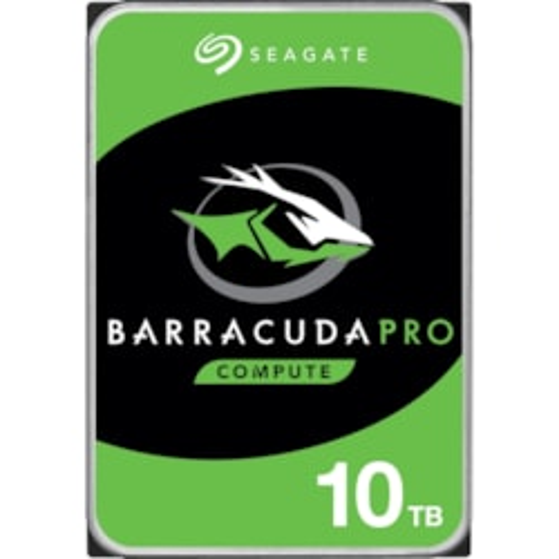 "Seagate BarraCuda ST10000DM0004 10 TB Hard Drive - 3.5"" Internal - SATA (SATA/600)"
