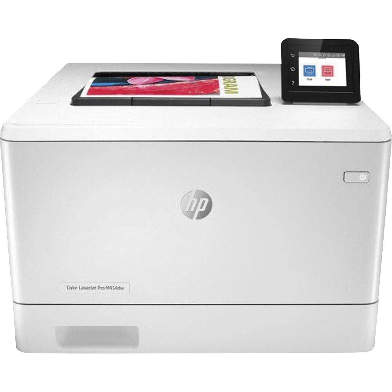 HP LaserJet Pro M454 M454dw Desktop Laser Printer - Colour