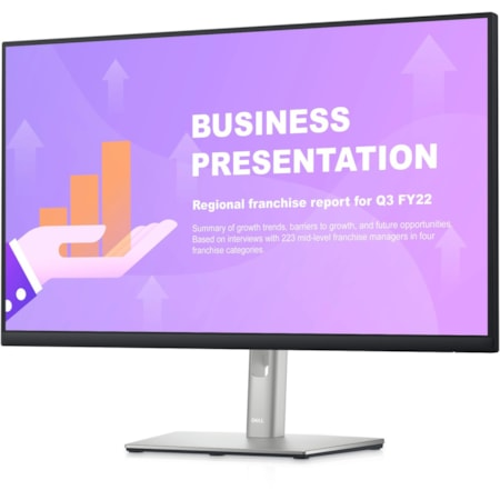 """Dell P2722HE 68.6 cm (27"""") Full HD WLED LCD Monitor - 16:9 - Black/Silver"""