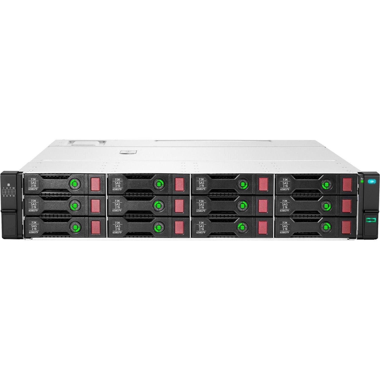 HPE D3610 Drive Enclosure - 12Gb/s SAS Host Interface - 2U Rack-mountable