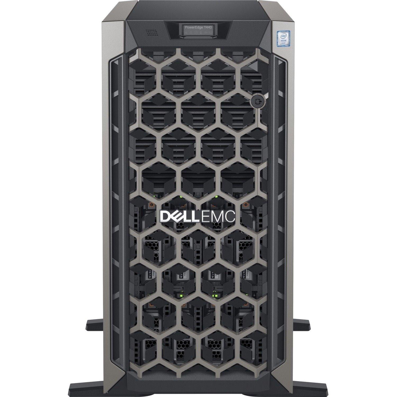 Dell EMC PowerEdge T440 5U Tower Server (Connect Accounting) - 2 x Intel Xeon Silver 4208 2.10 GHz - 32 GB RAM - 1 TB HDD - (1 x 1TB) HDD Configuration - 12Gb/s SAS, Serial ATA/600 Controller