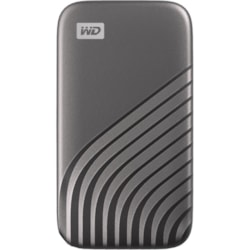 WD My Passport WDBAGF0010BGY-WESN 1 TB Portable Solid State Drive - External - Space Gray