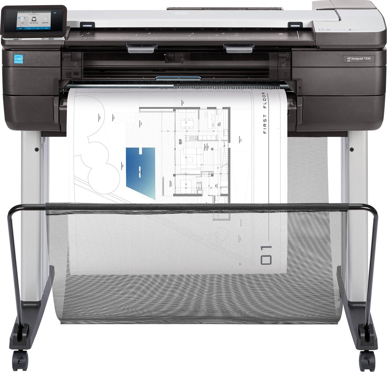 "HP Designjet T830 Inkjet Large Format Printer - 609.60 mm (24"") Print Width - Colour"