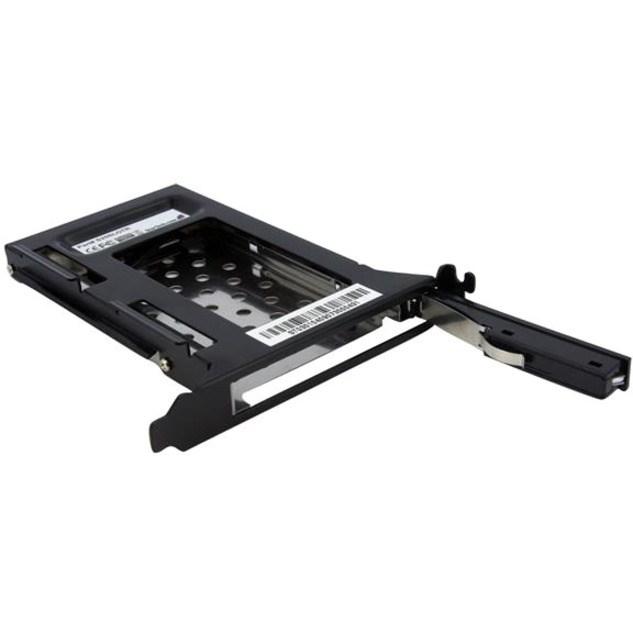 StarTech.com Drive Slot Adapter - Serial ATA/600 Host Interface Internal - Black