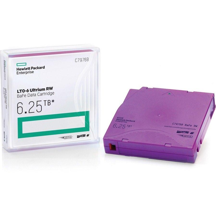 HPE LTO-6 Ultrium 6.25TB BaFe WORM Data Cartridge