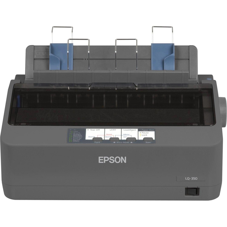 Epson LQ-350 24-pin Dot Matrix Printer - Monochrome - Energy Star