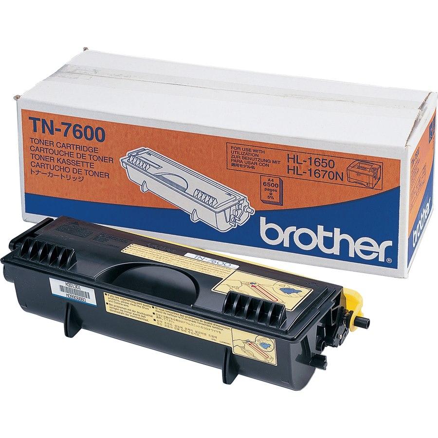 Brother TN7600 Original Toner Cartridge - Black