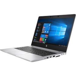 "HP EliteBook 830 G6 33.8 cm (13.3"") Notebook - 1920 x 1080 - Intel Core i5 (8th Gen) i5-8365U Quad-core (4 Core) 1.60 GHz - 8 GB RAM - 256 GB SSD - Silver"