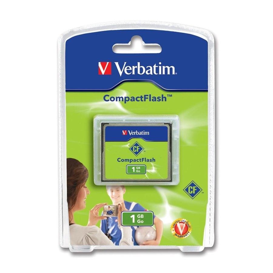 Verbatim 47010 1 GB CompactFlash