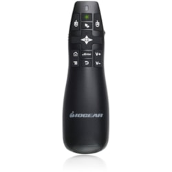 IOGEAR GreenPoint Pro GME435G Presentation Pointer - Radio Frequency - USB 2.0 - Laser - 1 Pack