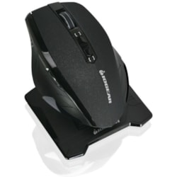 IOGEAR Kaliber Gaming Chimera M2 Gaming Mouse - Radio Frequency - USB 2.0 - Optical - 7 Button(s) - Black