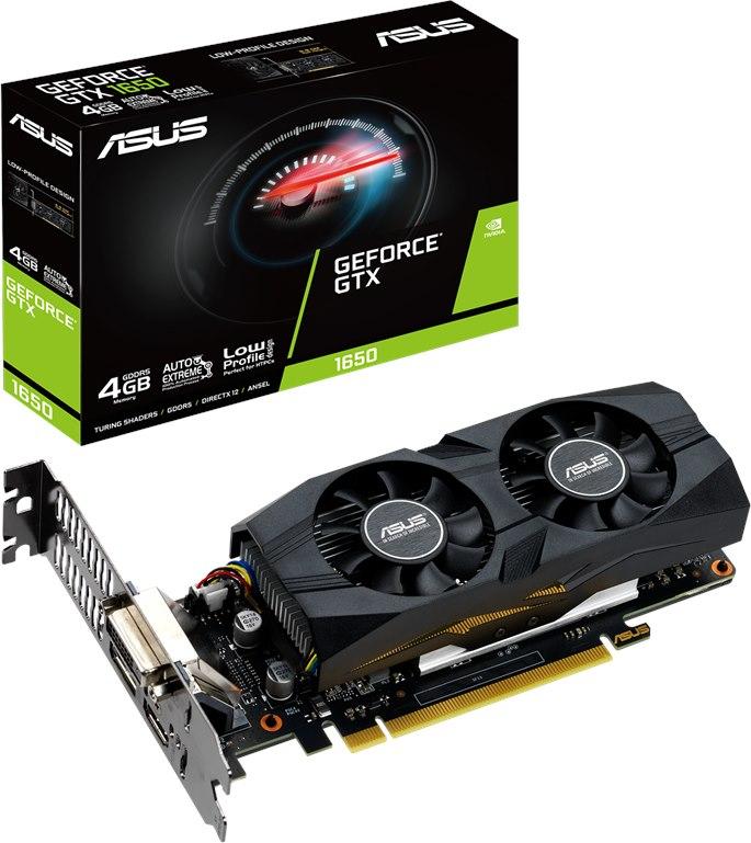 Asus NVIDIA GeForce GTX 1650 Graphic Card - 4 GB GDDR5 - Low-profile