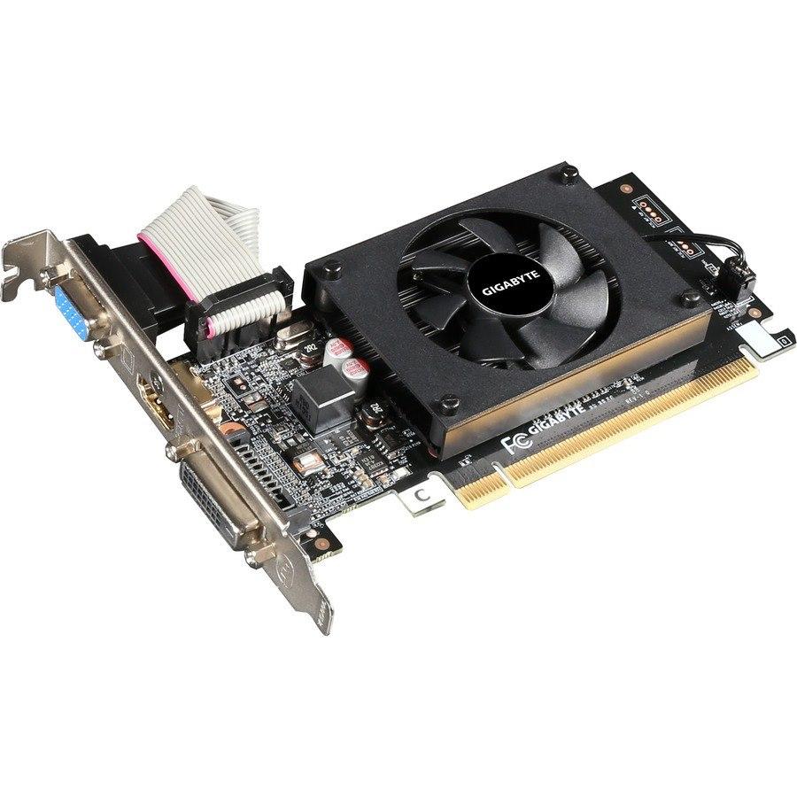 Gigabyte NVIDIA GeForce GT 710 Graphic Card - 2 GB DDR3 SDRAM - Low-profile