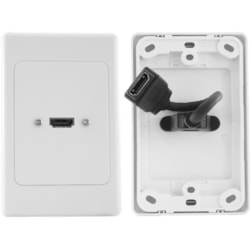 Pro2 HDMI1FLEX Faceplate - 1 x Total Number of Socket(s)