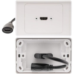 Pro2 HDMI1H Faceplate - 1 x Total Number of Socket(s)