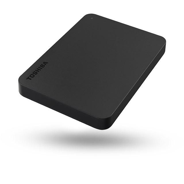 "Toshiba Canvio Basics 1 TB Portable Hard Drive - 2.5"" External - Black"