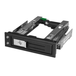 "StarTech.com 5.25 to 3.5 Hard Drive Hot Swap Bay - Trayless - For 3.5"" SATA/SAS Drives - Front Mount - Hard Drive Bay - SAS/ SATA Backplane"