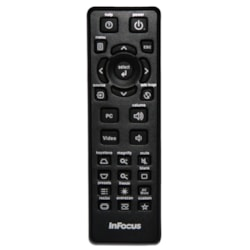 InFocus Replacement Remote for Meeting Room Projectors