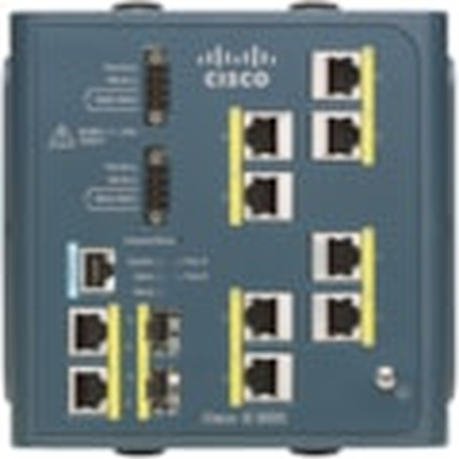 Cisco 3000-8TC 10 Ports Manageable Ethernet Switch