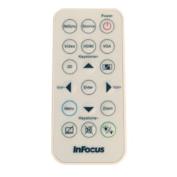 InFocus Replacement Remote for Select InFocus Projectors