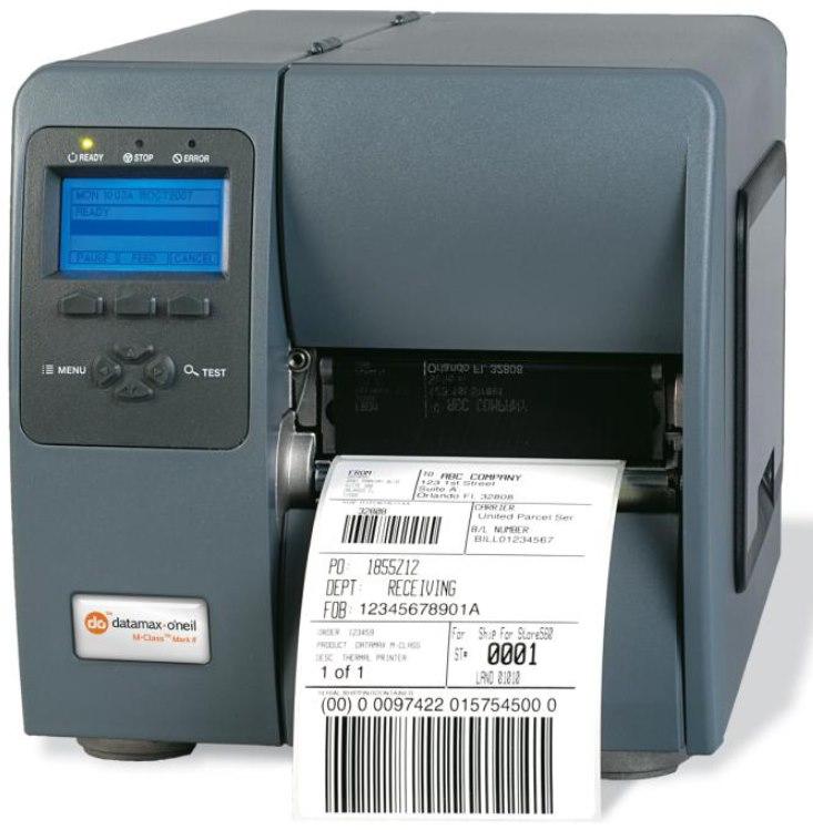 Datamax-O'Neil M-Class M-4206 Desktop Direct Thermal Printer - Monochrome - Label Print - USB - Serial - Parallel