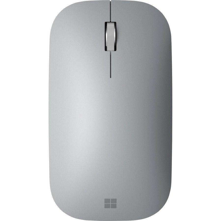 Microsoft Surface Mouse - Bluetooth - BlueTrack - 4 Button(s) - Platinum