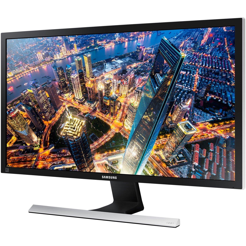 "Samsung U28E590D 71.1 cm (28"") 4K UHD LED LCD Monitor - 16:9 - Black, Metallic Silver"