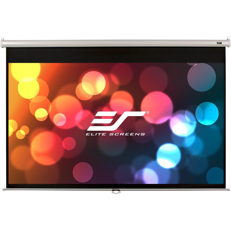 "Elite Screens Manual M100XWH 254 cm (100"") Manual Projection Screen"