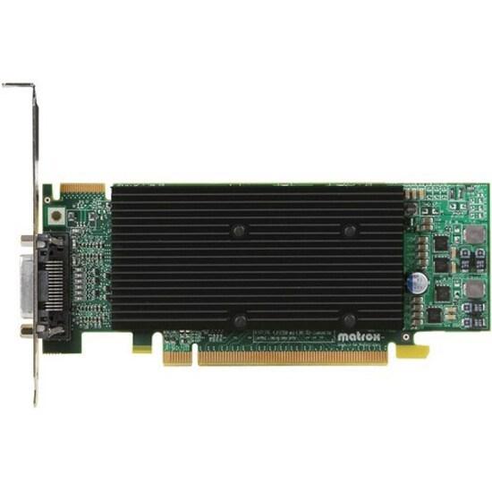 Matrox PCIE M9120 Plus 512MB LP - Firm Sale Only