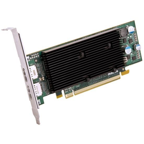 Matrox Matrox M9128 Graphic Card - 1 GB DDR2 SDRAM - Low-profile