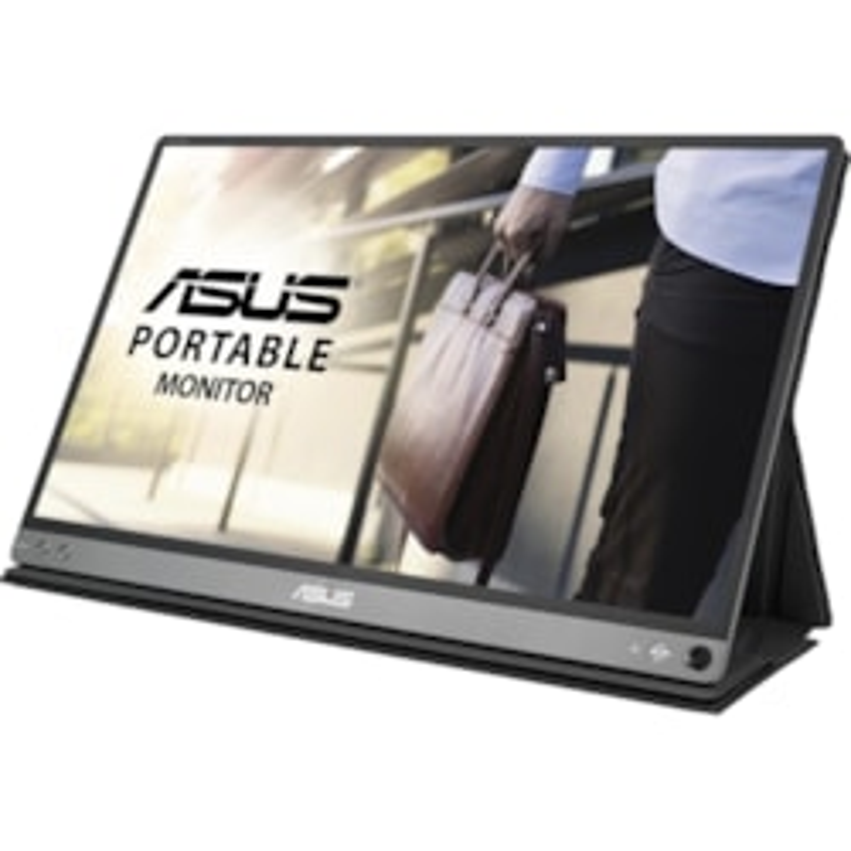 "Asus ZenScreen MB16AC 39.6 cm (15.6"") Full HD LCD Monitor - 16:9 - Dark Grey"