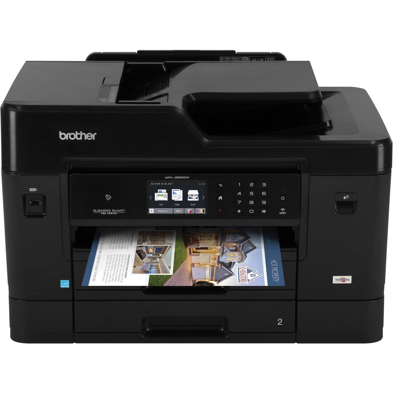 Brother Business Smart MFC MFC-J6930DW Wireless Inkjet Multifunction Printer - Colour
