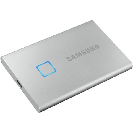 Samsung T7 2 TB Portable Solid State Drive - External - Silver