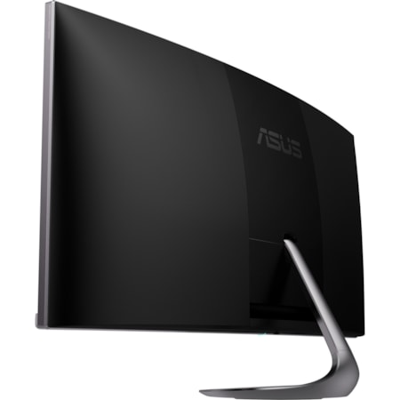 """Asus Designo MX38VC 95.3 cm (37.5"""") UW-QHD+ Curved Screen WLED Gaming LCD Monitor - 21:9 - Black, Space Gray"""