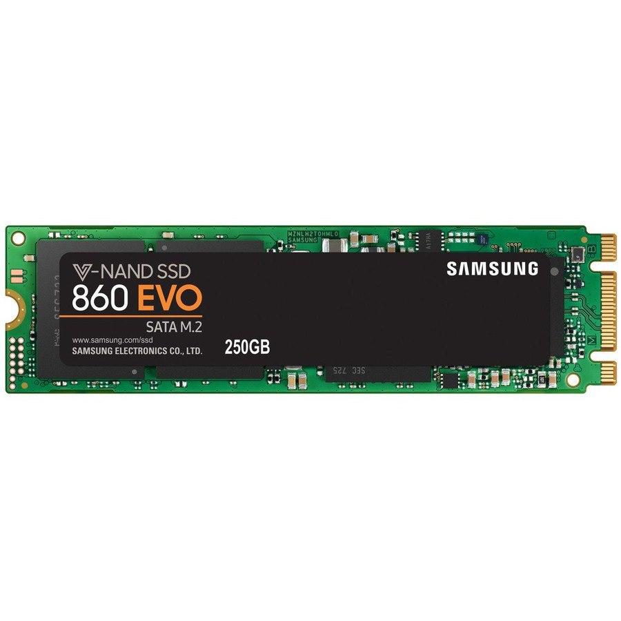 Samsung 860 EVO 250 GB Solid State Drive - M.2 2280 Internal - SATA (SATA/600)