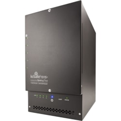ioSafe 1515+ 5 x Total Bays NAS Storage System - 5 x 2 TB HDD - Intel Atom Quad-core (4 Core) 2.40 GHz - 2 GB RAM - DDR3 SDRAM External