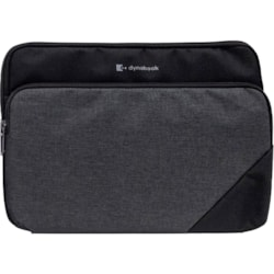 """Dynabook Premium Carrying Case (Slipcase) for 33.8 cm (13.3"""") Notebook - Cool Grey"""