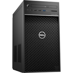 Dell Precision 3000 3640 Workstation - Intel Core i5 Hexa-core (6 Core) i5-10500 10th Gen 3.10 GHz - 8 GB DDR4 SDRAM RAM - 256 GB SSD - Tower