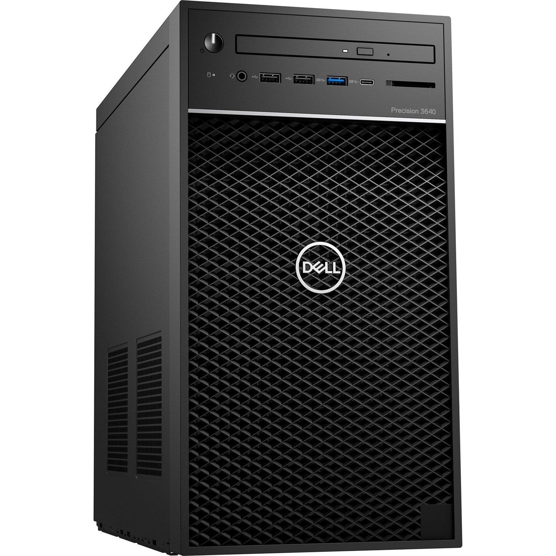 Dell Precision 3000 3640 Workstation - Intel Core i5 Hexa-core (6 Core) i5-10500 10th Gen 3.10 GHz - 8 GB DDR4 SDRAM RAM - 256 GB SSD - Tower