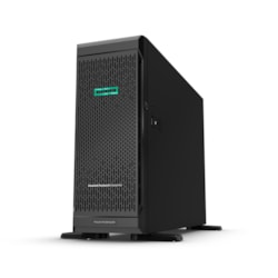 HPE ProLiant ML350 G10 4U Tower Server - 1 x Intel Xeon Silver 4208 2.10 GHz - 16 GB RAM HDD SSD - 12Gb/s SAS Controller