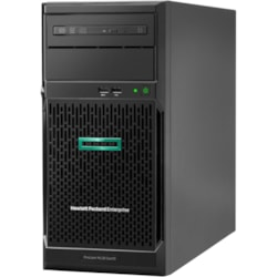 HPE ProLiant ML30 G10 4U Tower Server - 1 x Intel Xeon E-2224 3.40 GHz - 8 GB RAM HDD SSD - Serial ATA/600 Controller