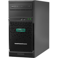 HPE ProLiant ML30 G10 4U Tower Server - 1 x Intel Xeon E-2224 3.40 GHz - 16 GB RAM HDD SSD - Serial ATA/600 Controller