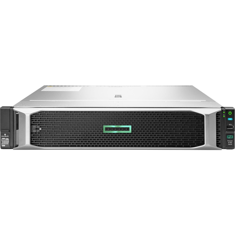 HPE ProLiant DL180 G10 2U Rack Server - 1 x Intel Xeon Silver 4208 2.10 GHz - 16 GB RAM HDD SSD - Serial ATA/600 Controller