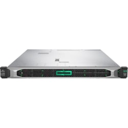 HPE ProLiant DL360 G10 1U Rack Server - 1 x Intel Xeon Silver 4214R 2.40 GHz - 32 GB RAM HDD SSD - Serial ATA/600, 12Gb/s SAS Controller