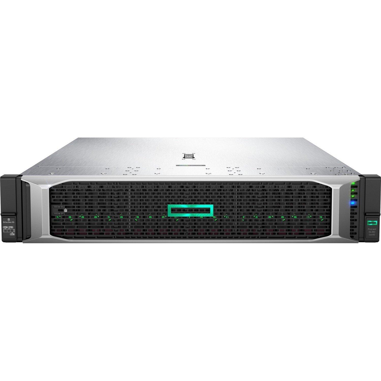 HPE ProLiant DL380 G10 2U Rack Server - 1 x Intel Xeon Silver 4214R 2.40 GHz - 32 GB RAM HDD SSD - Serial ATA/600, 12Gb/s SAS Controller