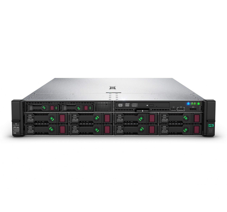 HPE ProLiant DL380 G10 2U Rack Server - 1 x Intel Xeon Gold 6248R 3 GHz - 32 GB RAM HDD SSD - Serial ATA Controller